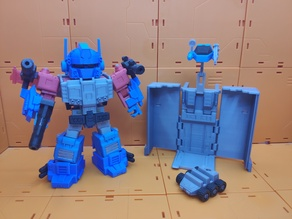God Optimus Prime Q-style Transformers