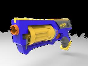 Nerf Gun Mechanism replica (not functional)