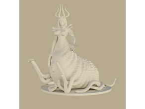 Tentacle Mom - Tabletop Miniature