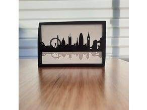 Silhouette City Skylines (several designs)