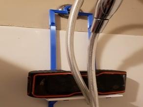 Hanging Shower Shelf - showerhead (shower speaker holder)