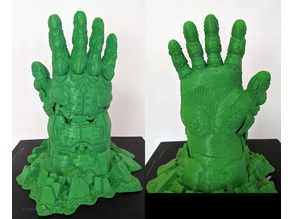Doom Guy Hand Breaking out of Ground