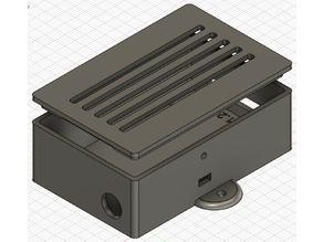 WLED wemos shield case (PCB v1.2)