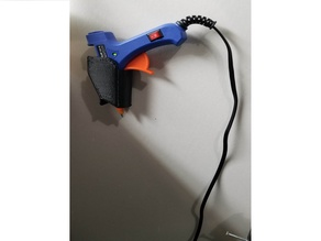Hot Glue Gun Wall Mount