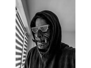 Samurai - inspired mask