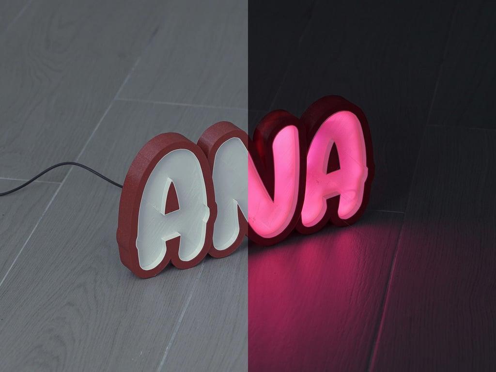 LED Marquee Ana
