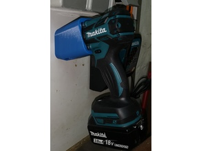 wall mount Makita DTW285 impact wrench