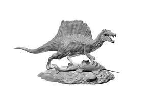 Spinosaurus Fishing Statue