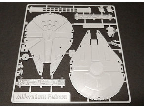 Millennium Falcon Kit Card by Fixumdude