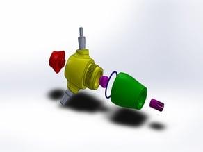 Printable Bottle Hookah