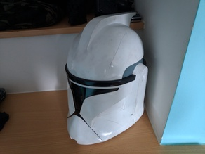 Clone trooper phase 1 helmet (remix)
