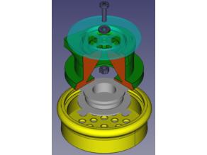 Адаптер-переходник EasyBreath для клапана выдоха противогаза ГП-5