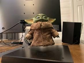 Levitating Baby Yoda