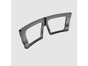 Fresno-FrameFront-Part1 Free 3D print model