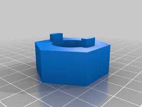 Freewheel Remover Tool (2 notches, suntour) - openscad