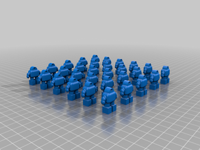 Legion of Miniature Robots (Epic Scale)