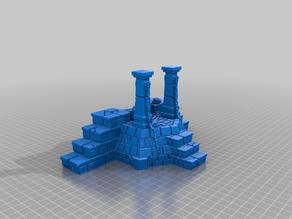 Slime pit sacrifice altar pulp terrain