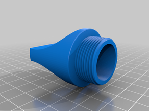 Flask Cap 1L threaded -V2