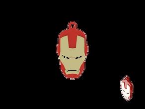 Keychain Ironman Minimal