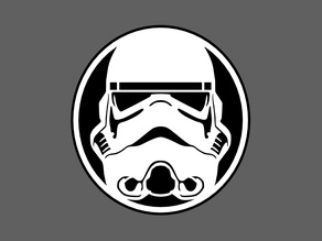 storm trooper coaster