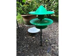 Bird feeder kit / Vogelfutterstation als Bausatz