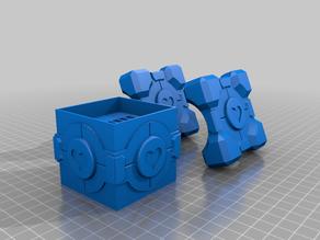 Companion Cube Switch Cartridge Holder