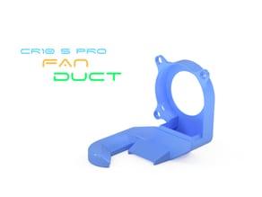 CR10S Pro Fan Duct