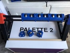 Mosaic Spool Holder Roller Brackets for Palette2