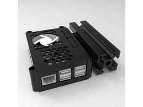 Octoprint - Raspberry Pi3 case with internal Noctua fan