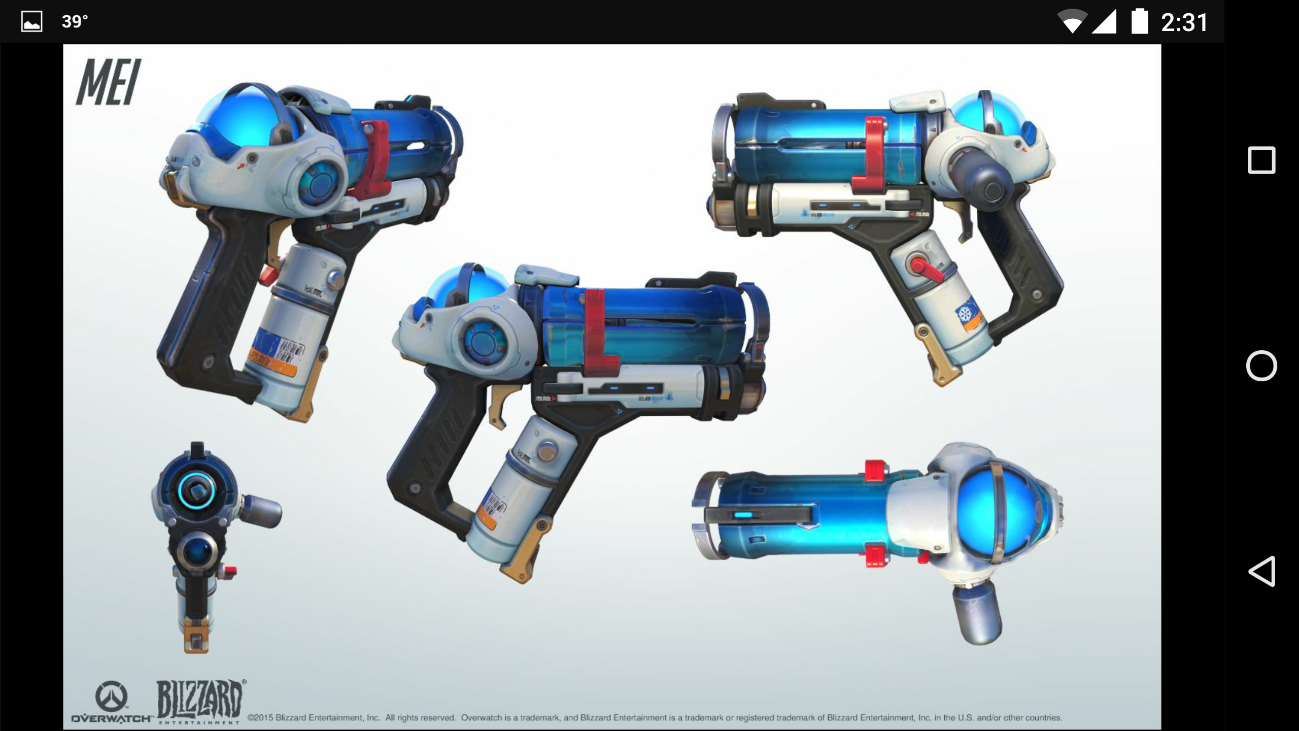 Ecopoint Mei Blaster Overwatch 3d Print Kit