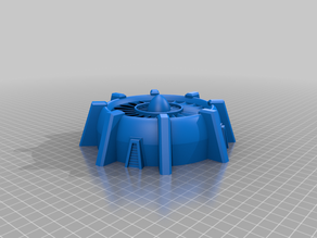 Warhammer 40k terrain / ventilation / cooling system