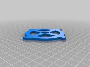 Fingertech Viper custom spinning blade