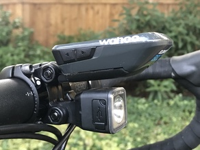 Aero Blendr mount for Wahoo Elemnt Bolt