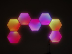 HexoLED - Modular LED lamps