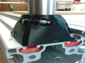 Nut holder for foot (for MPCNC)