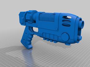 40K Rogue Trader Plasma Pistol