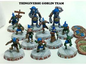 Blood Bowl Goblin Team