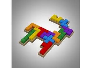 Moose pentomino puzzle
