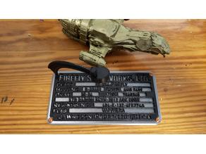 Firefly Builder Plate Stand