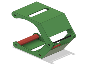 Clamping spool holder