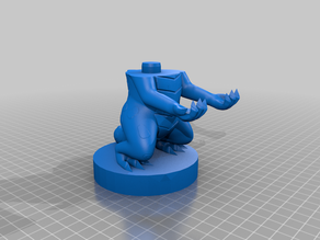 Spyro - Controller Stand Cutted