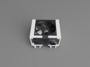 PSU (ATX) mount for 80/20 rails