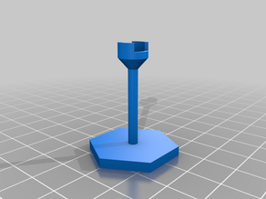 Magnetic Flight Stand for Tabletop Miniatures