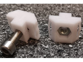 4040 profile M5 nut holder