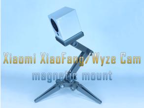Xiaomi XiaoFang / Wyze Cam magnetic mount