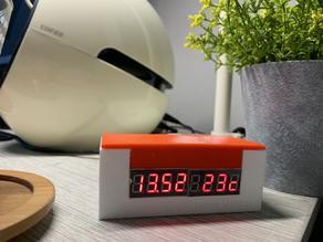 WeMos D1 Mini MAX7219 7-Segment LED ฺBox Case