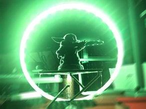 Slimmer Circle Lamp - 100cm and 50cm led strip