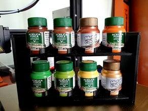 Paint Organizer (Acrilex 37ml Bottles)