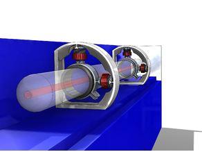 Adjustable Laser Tube Holder