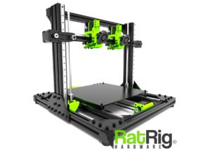 Rat Rig V-Cast (Linear Rail based IDEX Cartesian DIY 3D Printer)
